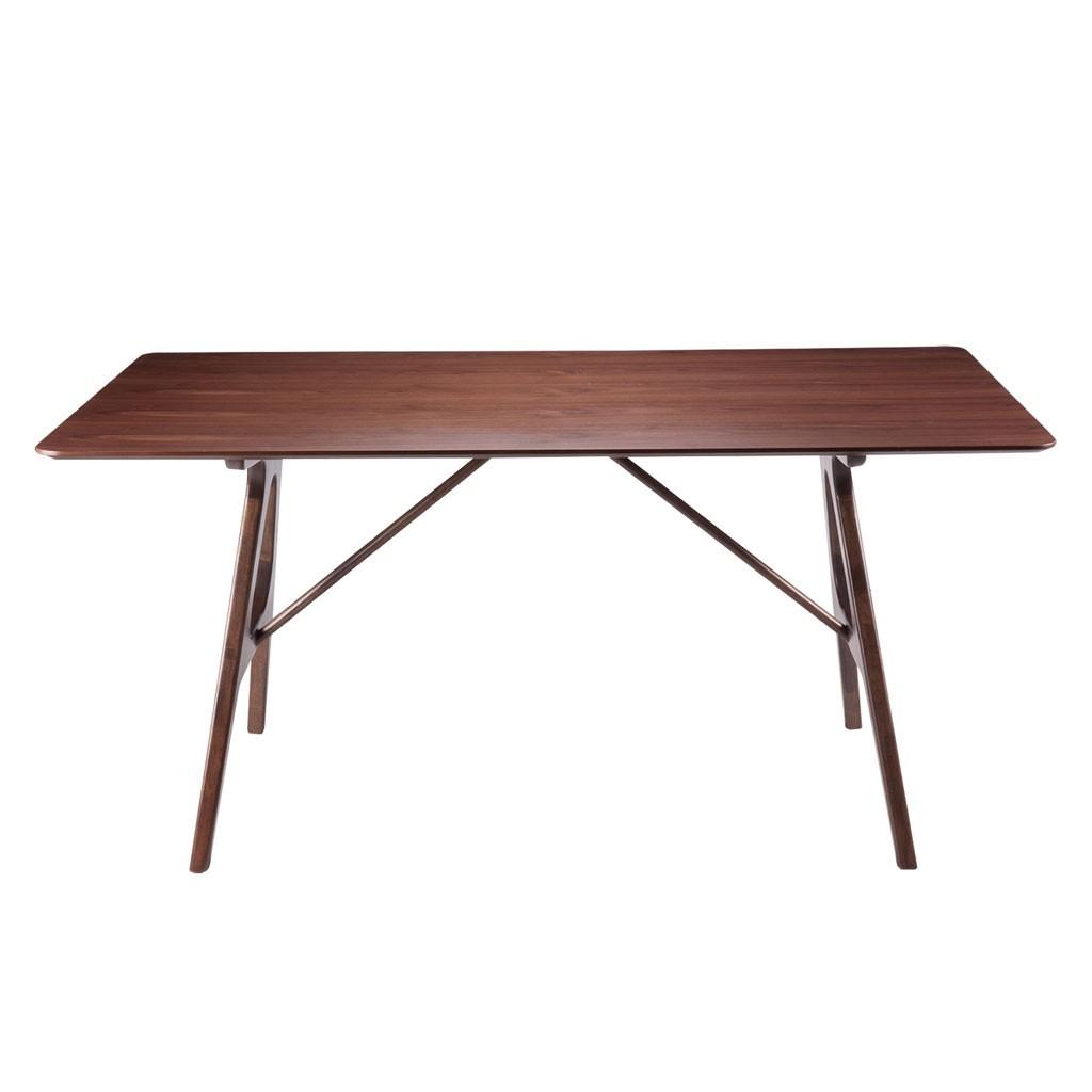 Mesa fija 160cm amara madera natural de fresno erizho for Mesas de comedor madera natural