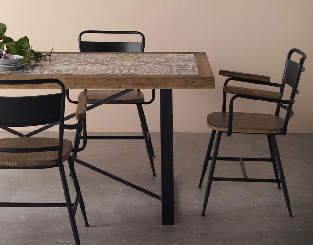 Muebles con azulejos - Erizho