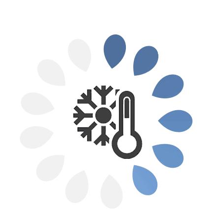 Adecuado para personas poco calurosas, climatología fría, jóvenes y niños.